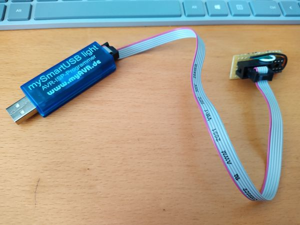 Programming ATTINY85 with mySmartUSB light from Arduino IDE